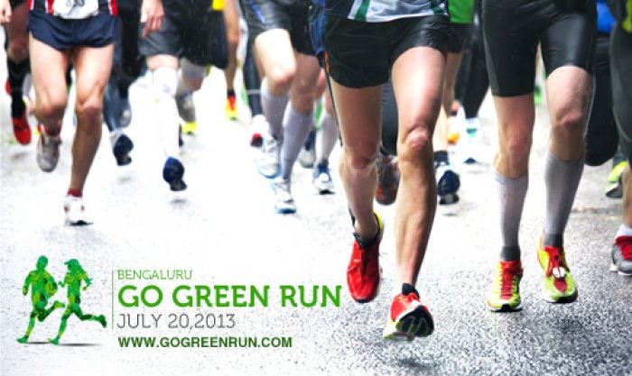 Bangalore to Host Unique Go Green Run Marathon promoting Run for Green Event