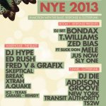 InMotion NYE with Response The Blast Gutterfunk &amp more