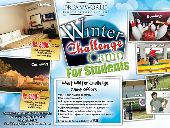 Winter Challenge Camp Dreamworld Resort Hotel Golf Course At