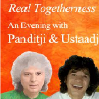Real Togetherness an evening with Pandit Shivkumar Sharma and Ustad Zakir Hussain  Shilpakala Vedika