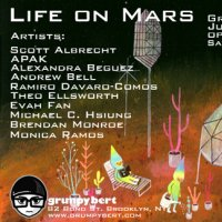 Grumpy Bert Life on Mars Art Show
