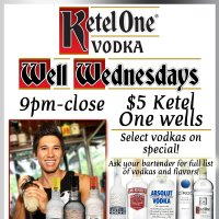 KETEL ONE WELL WEDNESDAYS  WINGSDAYS