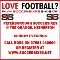 6aside mens football in peterborough