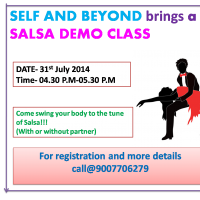 SELF AND BEYOND-A FREE SALSA DEMO CLASS