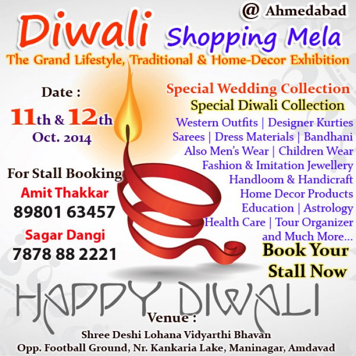 Diwali Shopping Mela Ahmedabad The Grand Lifestyle Traditional