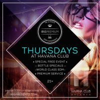 IRIS Premium Thursdays at Havana Club