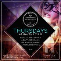 IRIS Premium Thursdays at Havana Club