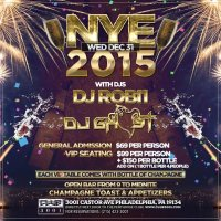 NYE 2015 at Castor Club 3001