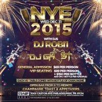 NYE 2015 at Castor Club 3001