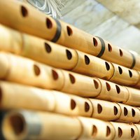 """Workshop Blowing Sufi Music Instrument &quotNey"""" end-blown flute"""
