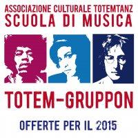 TOTEM-GRUPPON CORSI DI MUSICA E BALLO A PARTIRE DA 15 E AL MESE