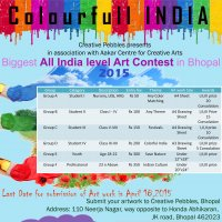 All India Level Art Contest 2015