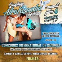 2 DITION GENEVE AFROKIZOMBA FESTIVAL 5-6-7 JUIN 2015