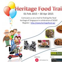 Heritage Food Trail in Singapore