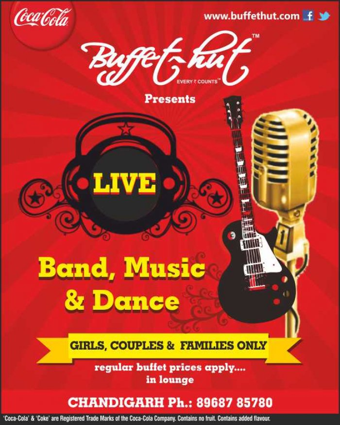 Miraculous Live Band Dance Buffet Hut Sector 9 Chandigarh At Download Free Architecture Designs Rallybritishbridgeorg