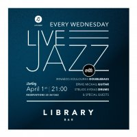 April Jazz Wednesdays  Library Bar