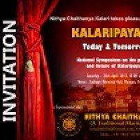 NATIONAL SYMPOSIUM ON &quot KALARIPPAAYAT  - TODAY AND TOMORROW