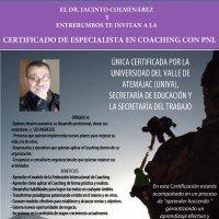 CERTIFICADO DE ESPECIALISTA EN COACHING CON PNL