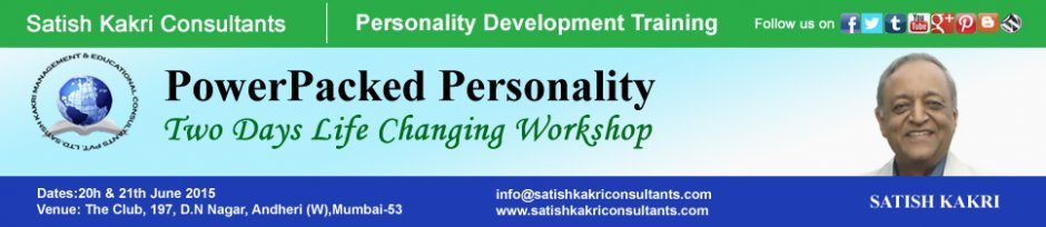 Power Packed Personality  Two Days Soft Skills Training Workshop