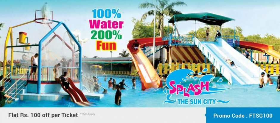 SPLASH THE SUN CITY - GWALIOR