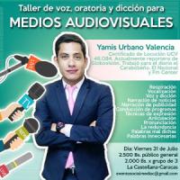 TALLER DE VOZ ORATORIA Y DICCIN PARA MEDIOS AUDIOVISUALES (