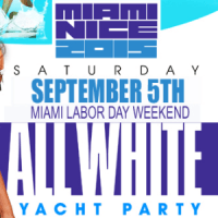 miami nice 2015 annual labor day weekend all white yacht party at south beach lady miami. Black Bedroom Furniture Sets. Home Design Ideas
