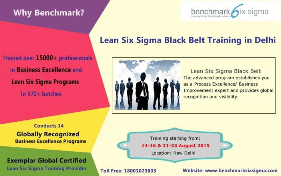 Lean Six Sigma Black Belt Certification Program In Delhi At Crowne