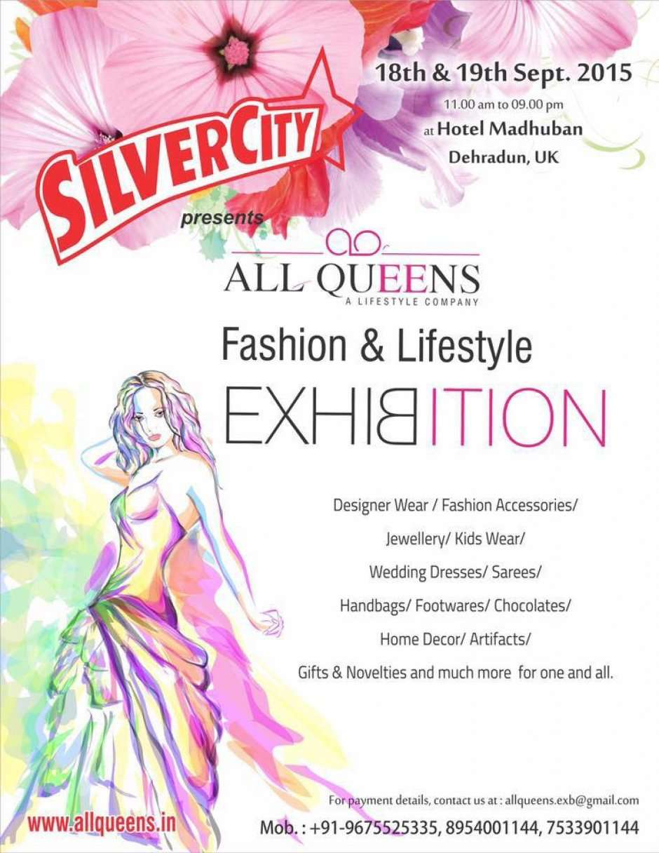 All queens a fashion lifestyle exhibition at hotel madhuban event details stopboris Gallery