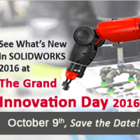SOLIDWORKS 2016 Launch Innovation Day - Make Great Design Happen