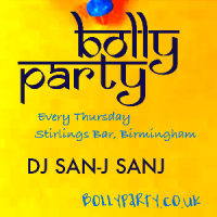 BollyParty in Birmingham - Bollywood Night