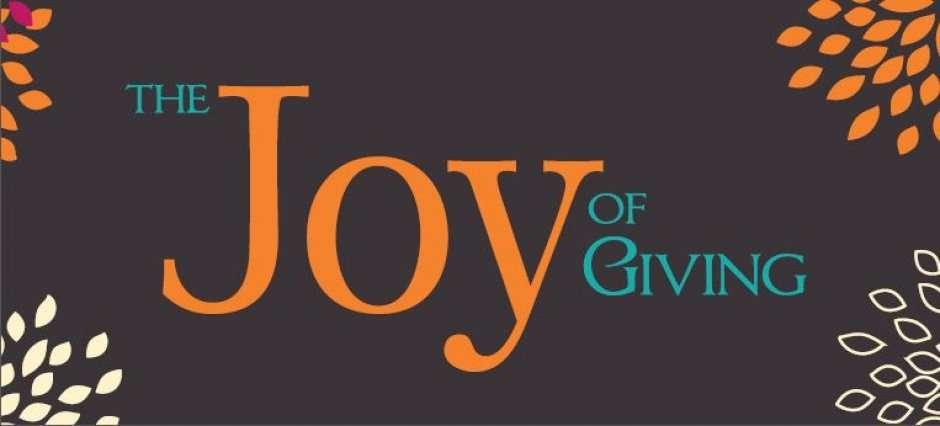 Joy In Giving: Joy Of Giving At Chennai, Chennai