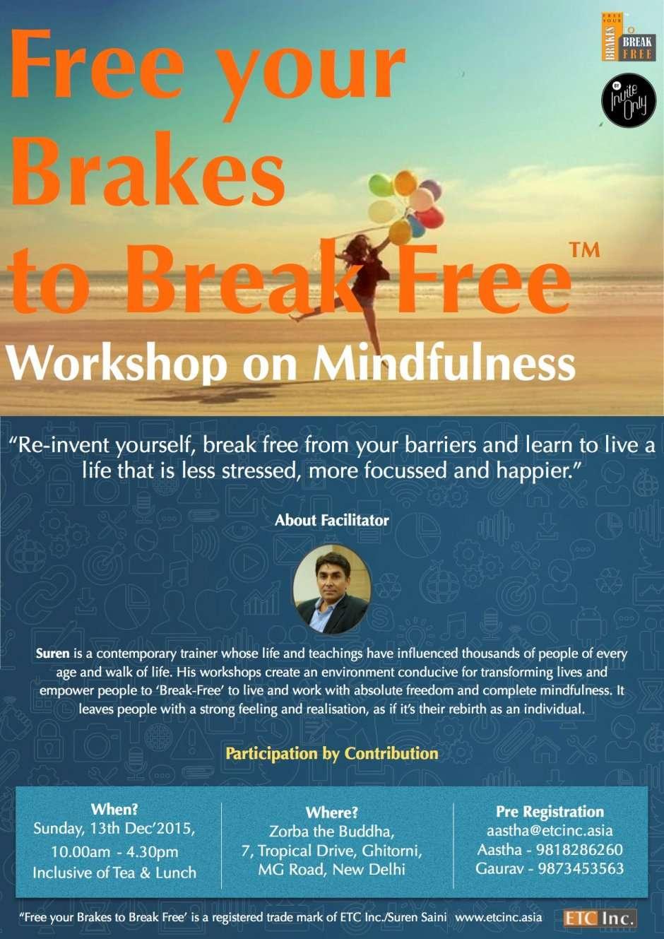 Workshop on Mindfulness