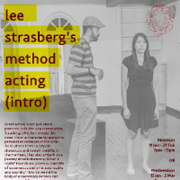 Lee Strasbergs Method Acting (Introduction) by Kamil Haque