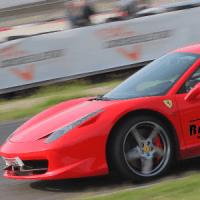 TEST DRIVE A RED FERRARI NEAR MILAN