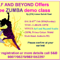SELF AND BEYOND - A free ZUMBA demo class