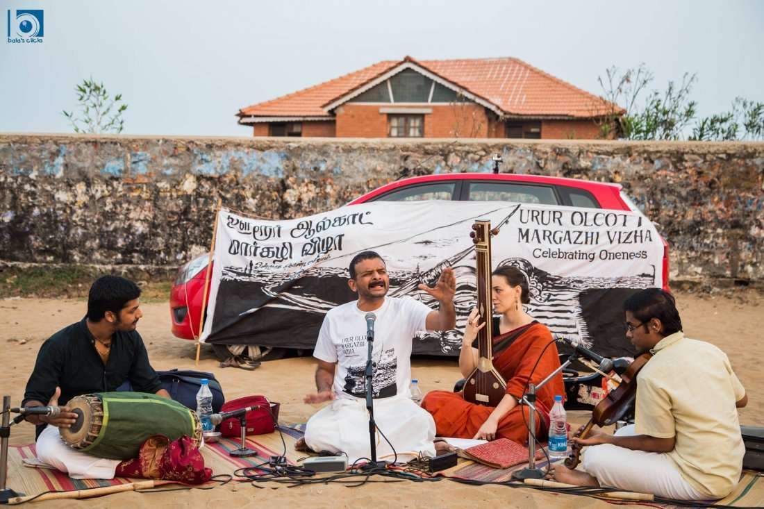 Music Recital by T.M.Krishna - Urur Olcott Kuppam Vizha