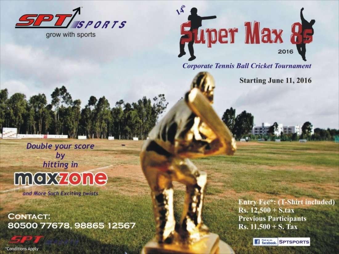 Inter Corporate Tennis Ball Cricket Tournament At SPT