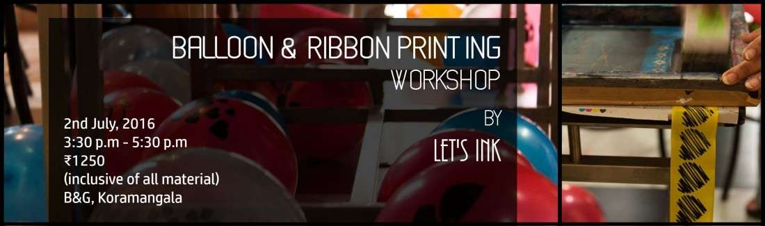 Balloon & Ribbon Printing by Lets Ink