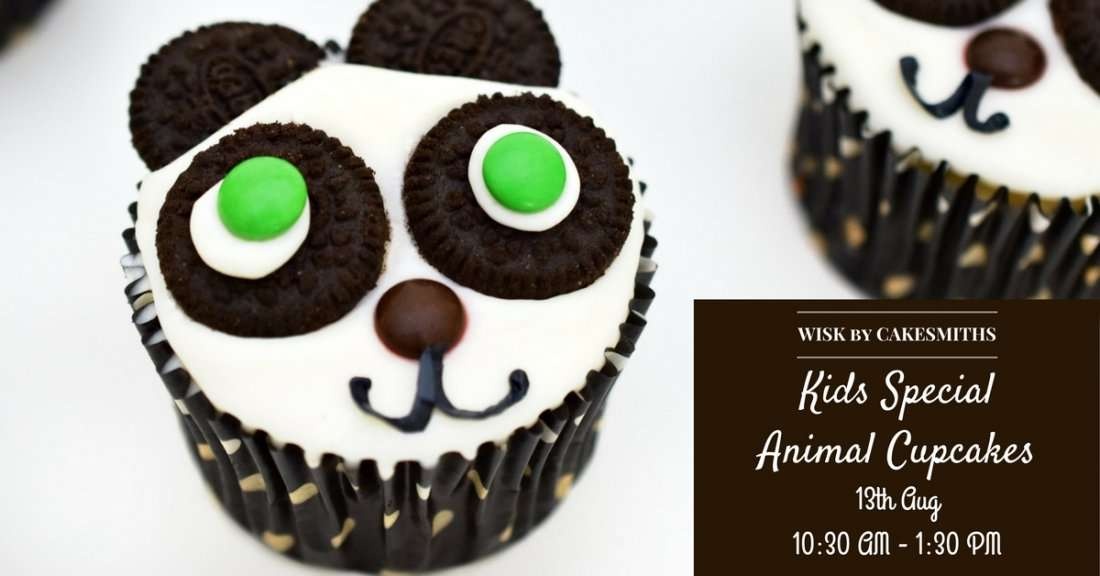 Cake Making Classes In Dombivli : Kids:Animal Cupcakes by Cakesmiths Mumbai